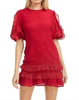 Keepsake Timeless Lace Mini Dress