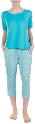 Asstd National Brand Lissome Short Sleeve Scoop Hi Low Tee
