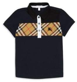 Burberry Little Boy's and Boy's Jeff Cotton Polo