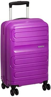 American Tourister (アメリカン ツーリスター) - [アメリカンツーリスター] スーツケース SUNSIDE サンサイド スピナー55 機内持込可 35L 55cm 2.5kg 51G91004 91 ウルトラバイオレット