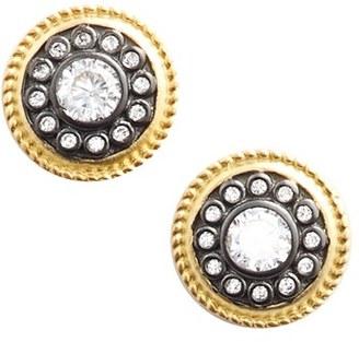 Women's Freida Rothman 'Nautical Button' Stud Earrings $70 thestylecure.com