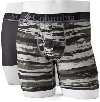 Columbia Men's 2-pack Omni-Wick Boxer Briefs
