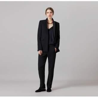 Amanda Wakeley Kashino Black Tux Jacket