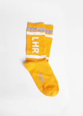 Tibi LHR Airport Socks
