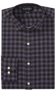 Lauren Ralph Lauren Slim-Fit Cotton Poplin Dress Shirt