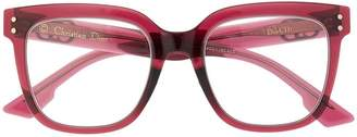 Christian Dior pink logo glasses