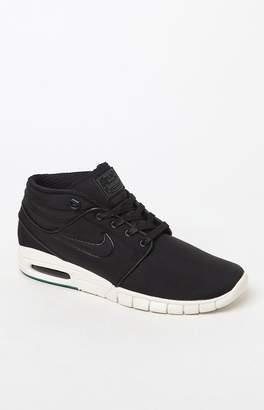 Nike Sb Stefan Janoski Max Mid Black & Green Shoes