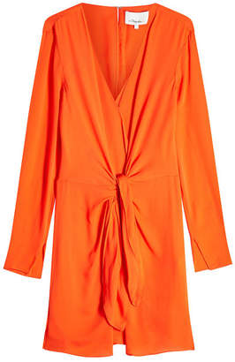 3.1 Phillip Lim Silk Dress with Knot Detail