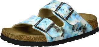 Papillio Birkenstock Women's Arizona 2-Strap Cork Footbed Sandal-Narrow Pixel Blu 37 N EU