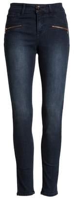 Tinsel Zip Detail Skinny Jeans