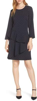 Eliza J Tiered Drop Waist Dress
