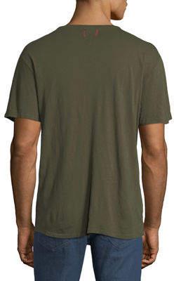 Joe's Jeans Men's Chase Raw-Edge Crewneck T-Shirt