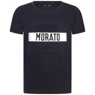 Antony Morato Antony MoratoBoys Dark Navy Embossed Logo Top