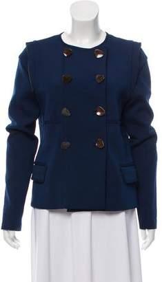 Lela Rose Structured Double-Breasted Jacket