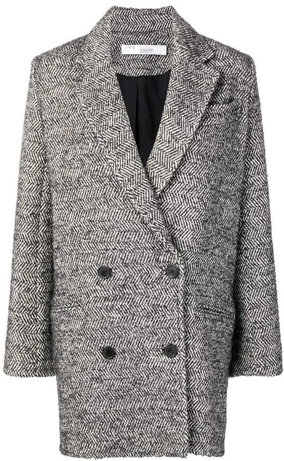 boxy blazer coat