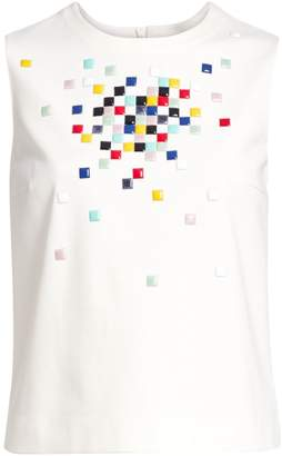 Akris Punto Pixel Sleeveless Top
