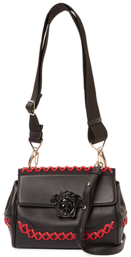 VersacePalazzo Empire Mini Leather Shoulder Bag