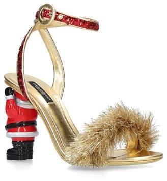 Dolce & Gabbana Santa Sandals 105