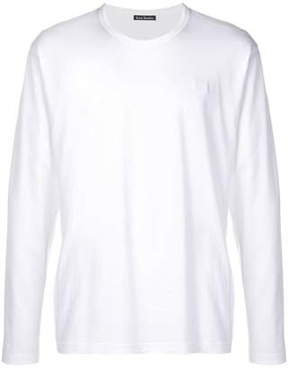 Acne Studios Nash L Face long-sleeved T-shirt
