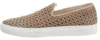 Rocco P. Woven Leather Sneakers