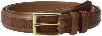 Allen Edmonds Woven Inlay Men's Belts