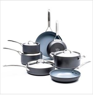 Green Pan Paris Pro 11-Pc. Ceramic Non-Stick Cookware Set