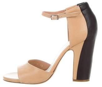 Maison Margiela Leather Bicolor Sandals