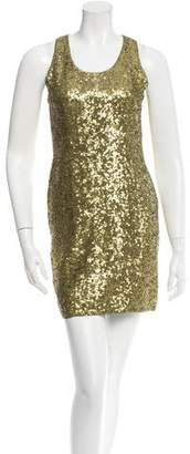 Alice + Olivia Sequined Mini Dress