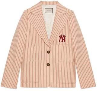 Gucci (グッチ) - ニューヨーク ヤンキースTM パッチ シルクウール ジャケット