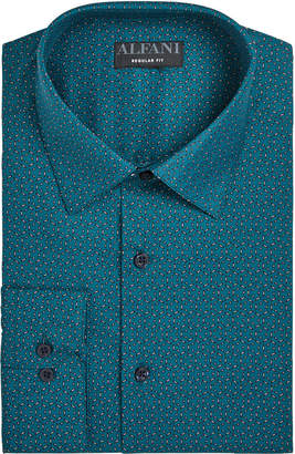 Alfani Assorted AlfaTech by Men's Athletic Fit Print Dress Shirts