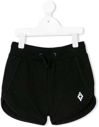 Marcelo Burlon County of Milan Kids logo embroidered shorts