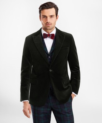 Brooks Brothers Regent Fit Velvet Tuxedo Jacket