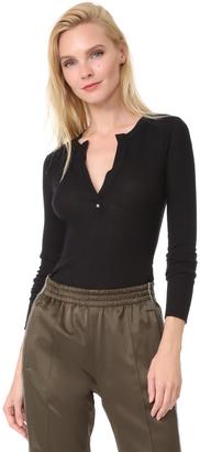 Belstaff Marella Ribbed Wool Shirt $250 thestylecure.com