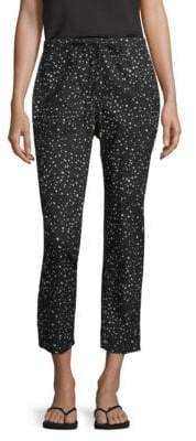 Eileen Fisher Dot Print Tapered Pant