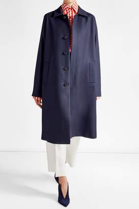 Maison Margiela Oversized Coat with Cotton