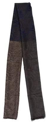Gianfranco Ferre Wool & Silk-Blend Printed Scarf