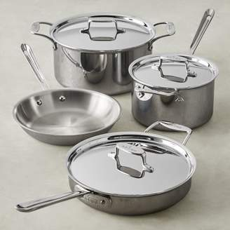 All-Clad d5 Stainless-Steel 7-Piece Cookware Set