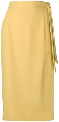ALEXACHUNG Alexa Chung midi skirt with side knot