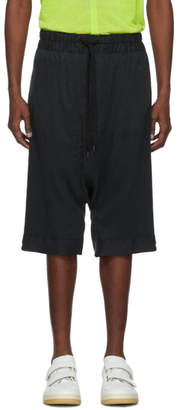 Robert Geller Black The RG Shorts