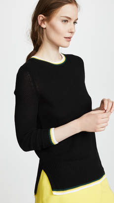 ADAM by Adam Lippes Slim Crew Neck Sweater
