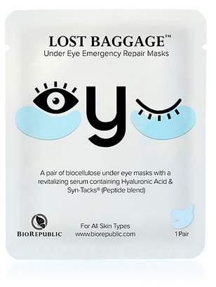 BioRepublic Lost Baggage Under Eye Emergency Repair Mask, 1 Pair