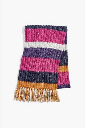 Country Road Chunky Stripe scarf