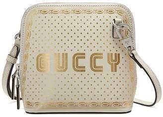 Gucci Guccy print mini shoulder bag