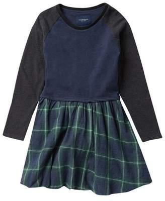 Toobydoo Zadie Green Plaid Skirt Dress (Toddler, Little Girls, & Big Girls)