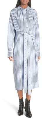 Tibi Stripe Shirtdress