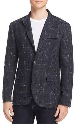John Varvatos Collection Raw Edge Regular Fit Blazer
