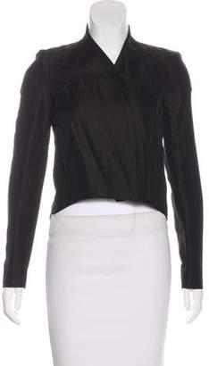 Helmut Lang Woven Zip-Up Jacket