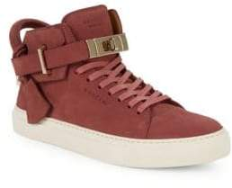 Buscemi Turnlock Strap High-Top Sneakers