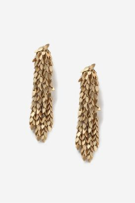 Topshop Multi-Leaf Drape Earrings