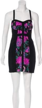 Rebecca Minkoff Mini Print Dress